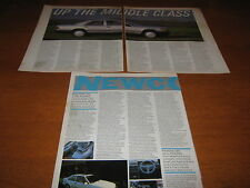 Mercedes W124, 200, 250, 280, 300, Ford Escort RS Turbo Articles