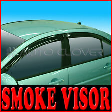 Smoke Window Visor Vent For 06 09 Hyundai Accent Verna