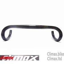 CLIMAX 31.8 X 430mm carbon Compact Road Bike handlebar Black light-than FSA 3T