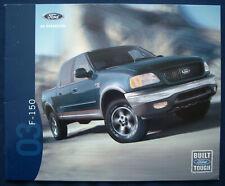 Prospekt brochure 2003 Ford F-150 Pickup (USA)