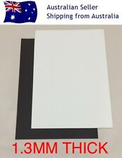 X2 A4 1.3mm Blank White PVC Magnet Sheet DIY Hand Craft Fridge Office Design