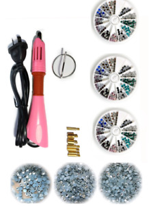 DIY Hot fix Applicator Clear or Colored Rhinestones quality guarrantee JCE20 10