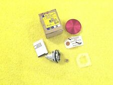 ***NEW*** SQUARE D 9001 TR 11 PUSHBUTTON OPERATOR WITH RED MUSHROOM KNOB