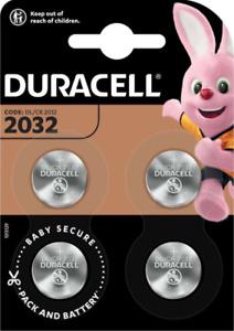 DURACELL CR2032 Bouton Lithium 3 V Blister de 4 Piles - Date 2030