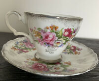Vintage Marco Teacup And Saucer