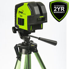 Imex LX22 Red Cross Line Laser Level & Plumb Spot + Magnetic Bracket + Tripod
