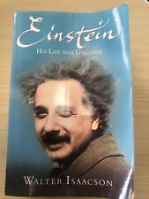 Einstein: His Life and Universe by Isaacson, Walter Paperback Book