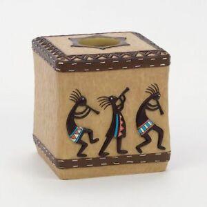 Avanti Linens Kokopelli Tissue Box Cover