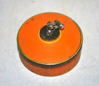 Old Collectible Vintage Lacquer Painted Wooden Crafted Kumkum Box Vermilion Box