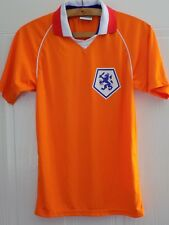 Holland National Football Shirt Retro Jersey Maglia Tricot VERY RARE Excellent
