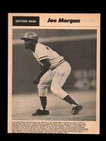Joe Morgan JSA Coa Signed 8x10 Vintage Photo Autograph