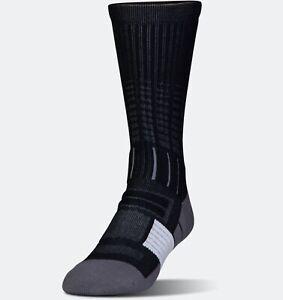 Under Armour UA Unrivaled Crew Socks Size L (9-12.5)