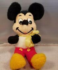 Vintage Mickey Mouse Stuffed Plush Walt Disney California U.S.A