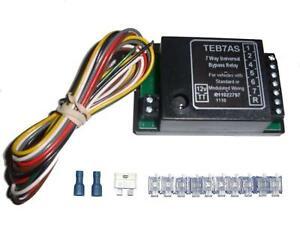 Universal 7 Way Bypass Relay Towing Electrics / Towbar Wiring Kit
