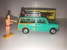 Corgi Toys Mini Countryman All Original W/Surfing Figure, And Surf Boards MIMB