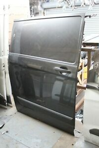 Ford Transit Custom O/S Side Loading Door 2016 grey
