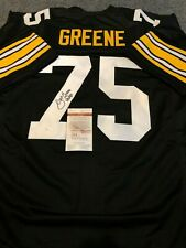 JOE GREENE AUTOGRAPHED SIGNED INSCRIBED PITTSBURGH STEELERS JERSEY JSA  COA