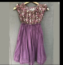 Cherokee Floral Cotton Blend Dress Girls Size 7/8 Twirl