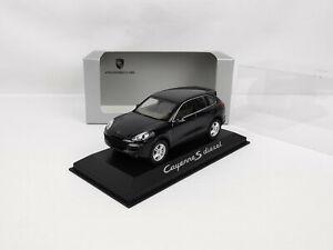 Porsche Cayenne II phase II S diesel bleu foncé 1/43 Minichamps