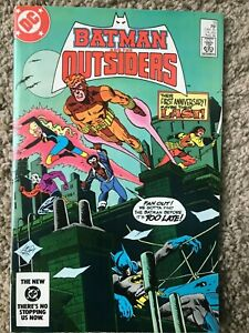Batman and the Outsiders #13 DC August 1984 VF (8.0) or better