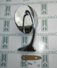 1939-1950 Oldsmobile 88 98 76 Drivers Left Side Chrome Outside Rear View Mirror