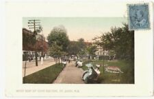 CANADA 331 -NEW BRUNSWICK -St. John, West side of King Square (1911)