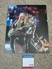 "ORIANTHI PANEGARIS ""MICHAEL JACKSON"" SIGNED 11X14 PHOTO psa/dna ALICE COOPER"