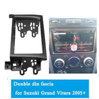 For 2005-2014 Suzuki Grand Vitara 2 DIN Stereo Radio Fascia Panel Frame Kit