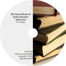 14 Volume Set - The Sacred Books and Early Literature of the East Books on CD