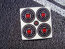 WOLFSBURG Edition Wheel Stickers 50mm T2  VW VDUB  BAY T25 Westfalia Golf