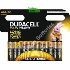 12x Duracell AAA Plus Power Alkaline Batteries Duralock LR03 MN2400 MICRO 2026ex