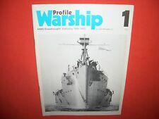 Warship Profile 1, HMS Cuirassé Battleship 1906-1920