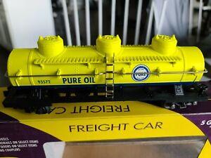 K-Line American Flyer Compatible #K511-019 PureOil Tankcar NIB, Lot # 634