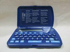 Franklin 5 Language European Pocket Translator TWE-106 Blue Tested Works