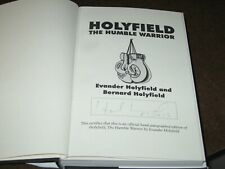 """EVANDER HOLYFIELD SIGNED 1996 BOOK. """"THE HUMBLE WARRIOR"""", BOXER"""