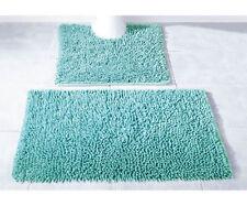 Tapis de bain vert coton