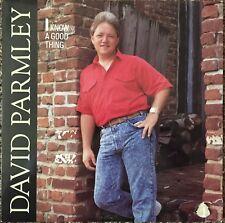 David Parmley  I Know A Good Thing LP Vinyl Sugar Hill  1989 Sugar Hill Records