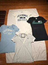 Abercrombie & Fitch Girls Short Sleeve Shirts&1/2 Button Up Polo Size S