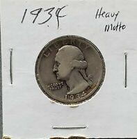 1934 P Washington Silver Quarter Coin Circ Heavy Motto UNC Combo Ship Discounts