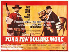 For a few dollars more 1967 repro reproduction print uk poster sergio leone