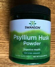 Swanson Organic Psyllium Husk Powder, 12 oz.exp 07/2020 68 Servings