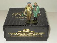 BRITAINS PREMIER COLLECTION SET 2006 BRITISH SOLDIER HELPING GERMAN SOLDIER RARE