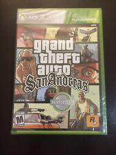 New listing Grand Theft Auto: San Andreas Xbox 360 [Brand New]