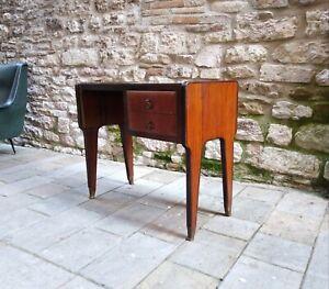 Vintage Italian Mid century writing Desk by Vittorio Dassi italy 1950s