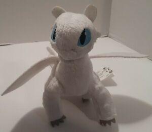 "DreamWorks How To Train Your Dragon 8"" Lightfury Plush Soft Toy Stuffed"