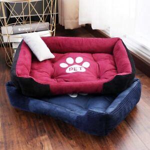 Pet Dog Beds Mat for Small Medium Large Dogs Pillow High Elasticity PP Fiber Fil