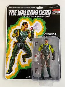The Walking Dead A Real Apocalypse Hero Governor Figure No Blood Version RARE