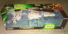 Star Wars Power Of The Jedi B-Wing Fighter With Sullustan Pilot 2001 Hasbro NEW