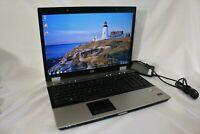 "HP EliteBook 8730w 17"" Windows 7 Pro 64 Bit Laptop 60GB 2GB RAM HDMI Read Desc"