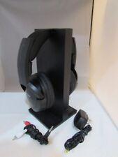 Sony MDRRF985RK Wireless RF Headphones, Black MDR-RF985RK